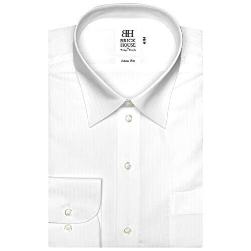 ファイアルマークシットコムブリックハウス ワイシャツ 長袖 形態安定 レギュラー スリム メンズ BM018500AA11R1A-90