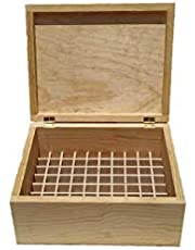 Caja de madera para aceites esenciales 5ml 10ml 15ml young living Do terra just roll on