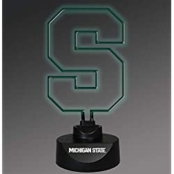 NCAA Michigan State University Col-MSU-1808Neon Lamp, Multi, One Size