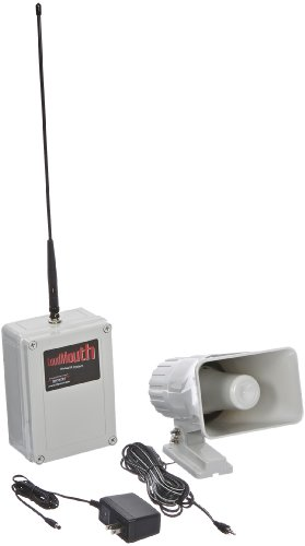 ritron-lm-u450-wireless-uhf-pa-receiver-with-speaker-antenna-and-power-supply