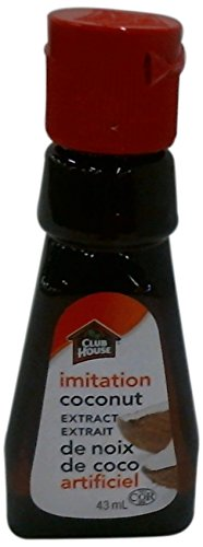 Club House, Quality Baking & Flavouring Extracts, Imitation Coconut, 43ml
