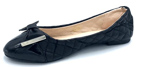 Quilted Ballet Flats Shoes - 7