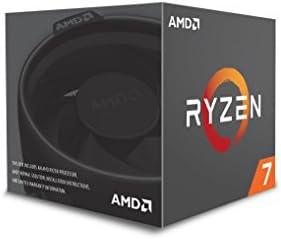 AMD YD1700BBAEBOX Ryzen 7 1700 Processor with Wraith Spire LED Cooler