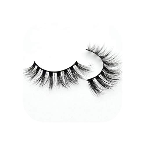 Mink Eyelashes Handmade False Lashes Reusable False Eyelashes Cilios Thick 3D Mink Lashes Maquiagem Makeup D22,D23