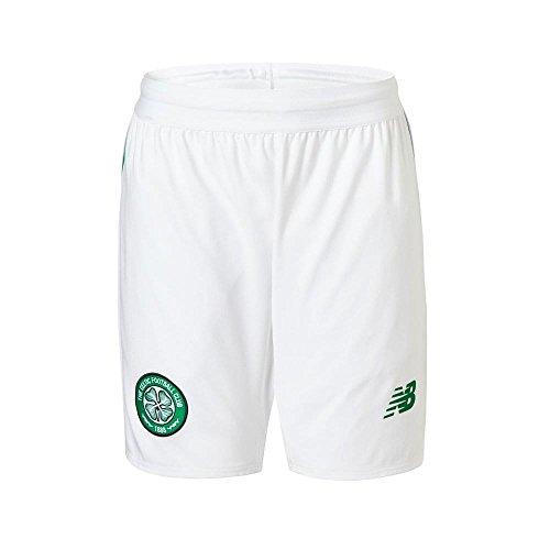 ポーズテレマコス過度の2018-2019 Celtic Home Shorts (White) - Kids