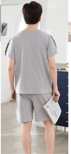メンズ パジャマ 夏 純綿 半袖 ショートパンツ カジュアル ゆったり 薄手 ルームウェア 通気 速乾 快適 部屋着