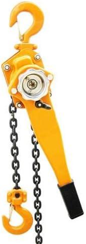 3//4 Ton Lever Block Chain Hoist Ratchet Type Come Along Puller 5ft Chain Lifter
