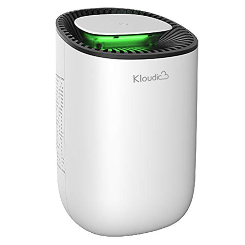KLOUDIC Dehumidifier 600ml Portable Mini Electric Dehumidifier Ultra Quiet Air...