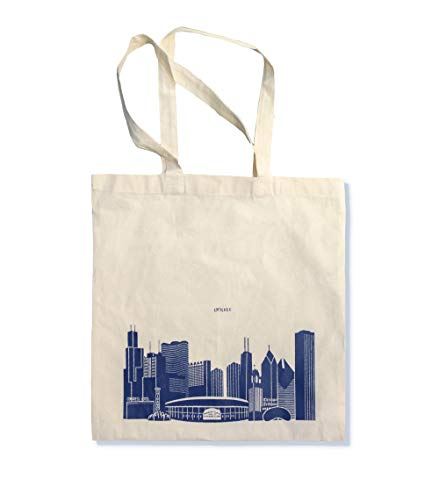 Chicago Gifts Chicago Skyline Bag Tote 15