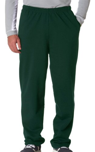 Jerzees Men's NuBlend 50/50 Open-Bottom Pocket Sweatpant, L,