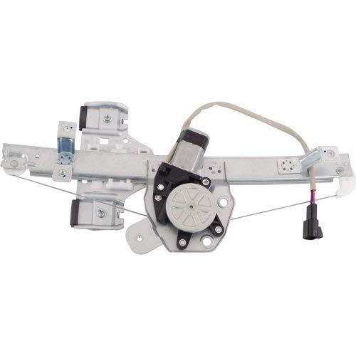 - Rear Window Regulator Compatible with PONTIAC G8 2008-2009 / CAPRICE 2011-2017 RH Power with Motor
