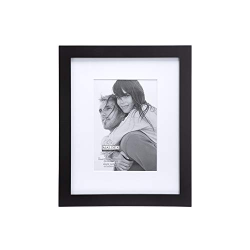 5x7 Picture Frame LINEAR WALL - Matted Black