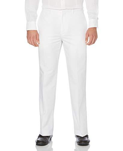 Cubavera Men's Big and Tall Linen-Cotton Herringbone-Textured