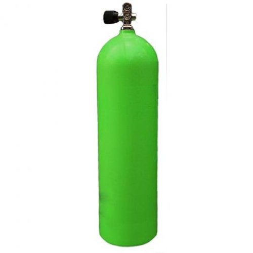 Sea Pearls 80 Aluminum Scuba Diving Air Tank 3000 PSI Thermo Pro Vavle VA200-30N Nitrox Ready-Green