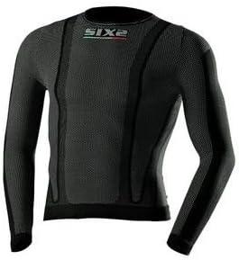 SIXS SIX2 TS2 Maillot /à thermor/égulation et manches longues XS noir
