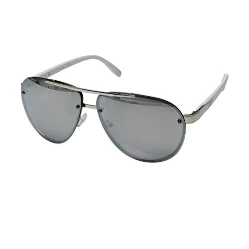 GUESS Unisex GF0165 Shiny Dark Nickeltin/Smoke Mirror One Size