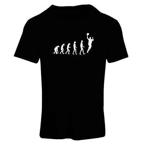 Camiseta Mujer evolución de Baloncesto - Canasta de la Calle, me Encanta Este Juego, Gran Fan de Regalo (X-Large Negro...