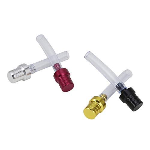Tubo di sfiato in alluminio per coperchio del serbatoio adatto per lo sfiato del tappo del serbatoio LaonBonnie Refit Parts alta qualit/à