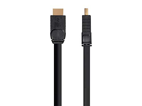 Monoprice High Speed HDMI Cable - 25 Feet - Black, Active, 4K@60Hz, HDR, 18Gbps, 24AWG, YUV 4:4:4, CL3 - HOSS