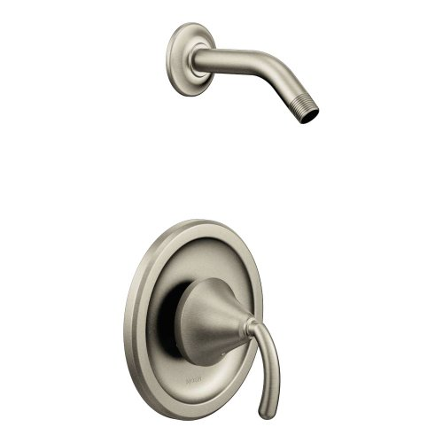Moen TS2142NHBN Single Handle Shower Trim, Brushed Nickel
