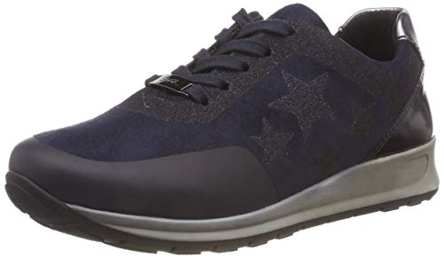 midnight ARA Blau Women's Trainers 02 Osaka Blue Black Fucile r4rS6
