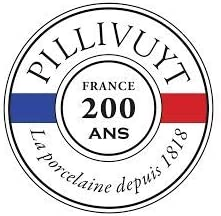 Pillivuyt France Toulouse Large Round Gratin Baker//Casserole 1.5 Quarts 9 Inches Diameter Oven-Microwave-Freezer