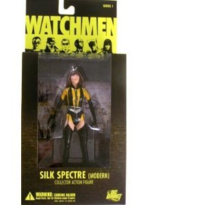 [DC Comics Watchmen Movie Silk Spectre Modern Action Figure] (The Watchmen Silk Spectre Costume)
