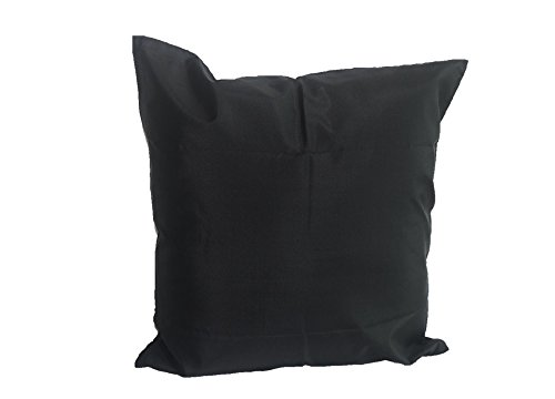 Lotus House Black Silk Pillow Case by Lotus House