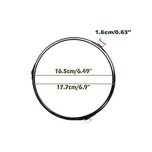 """3 Pcs Microwave Oven Turntable Support 7 Inches Dia Roller Wheel Tray Rotating Ring Support for 12.5"""" Microwave Glass Turntable Plate"""