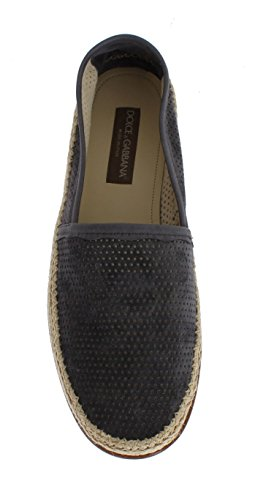 Dolce & Gabbana Gray Suede Breathable Logo Loafers FWv8dS