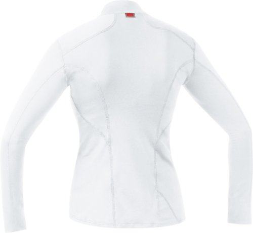 Gore Bike Wear Base Layer - Camiseta interior de ciclismo para mujer, color 986 blanco