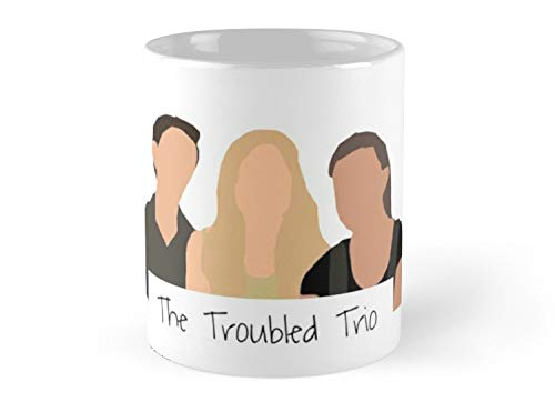 The Troubled Trio Mug - 11oz Mug - Best gift for family friends