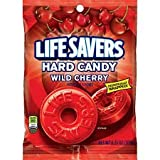 LifeSavers Candy, Individually Wrapped, Wild Cherry 6.25 oz (pack of 3)