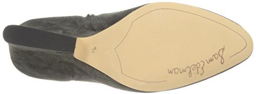 Edelman Phantom M Grey Women's US 10 Bootie Sam Saddle Wilson Ankle H1Rdqwq6