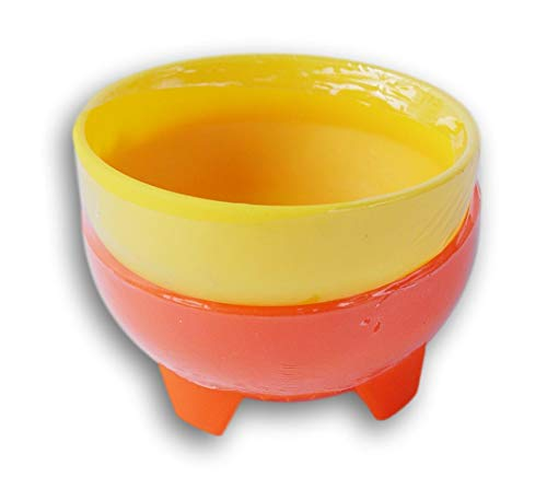 - Mexican Style Miniature Salsa Dip Bowls - 2 Ct (Yellow and Orange)