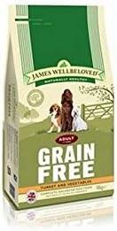James Wellamoved - Grano de comida para perro (turca y verdura, 10 kg, 2 unidades)