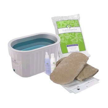 Therabath Pro Warmer With 6-pounds Scent-free Paraffin And Manicure Kit (Therabath Unit)
