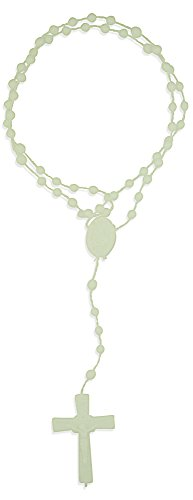 Vatican Imports Plastic Economy Rosary - Made in Italy (Glow-in-The-Dark) ()