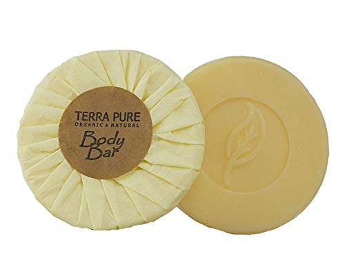 Terra Pure Bar Soap, Travel Size Hotel Amenities, 1.25 oz (Pack of 10) ()