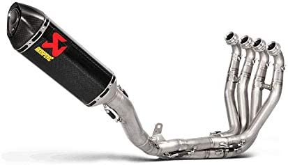 S-K10R9-ZC AKRAPOVIC Stainless Race Full Exhaust with Carbon FITS 2016-2017 Kawasaki ZX10R