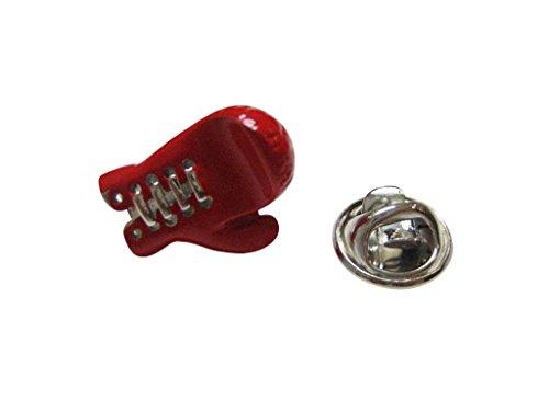 Red Boxing Glove Lapel Pin (Boxing Glove Pin)