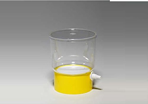 Vacuum Driven Sterile Bottle or Top Filter Cup Various Membranes and Pore Size (0.22um, Yellow NYLON Cup 1000ml, 1Piece) Sorfa