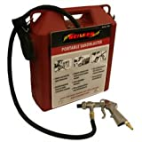 neilsen CT1109 Portable Air Sandblaster 30lb Capacity-Need Compressor, 240 V, Red