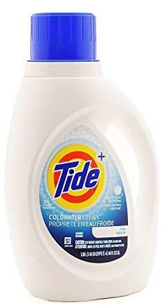 (Tide Coldwater Clean Unscented Free Nature. Free of Dyes & Perfumes 48 loads (2 x 46 Fl. Oz))
