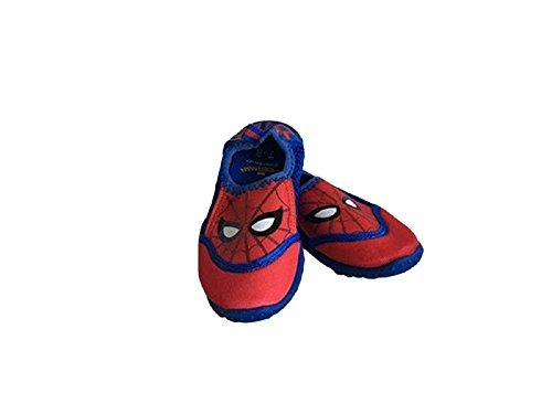 Spiderman Toddler Boys Mesh Water Shoes (7-8) by ACI