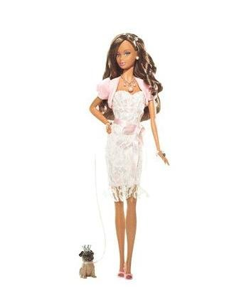 October Birthstone Barbie - Barbie Birthstone Beauties African-American Miss Opal - October L7582