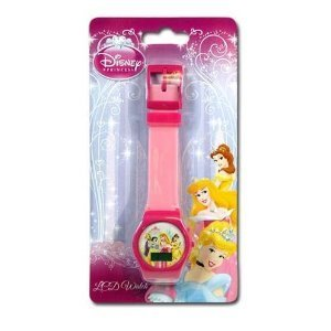 Disney Princess Digital LCD Watch For Girls (assorted ()