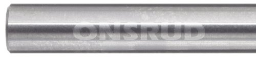 variant image of LMT Onsrud 62-718 Solid Carbide Downcut Spiral O Flute Cutting Tool, Inch, Uncoated (Bright) Finish, 21 Degree Helix, 1 Flute, 2.0000