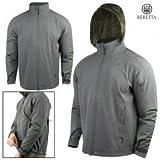 Beretta Men's Waterproof Field Jacket, Grey/Green, Large