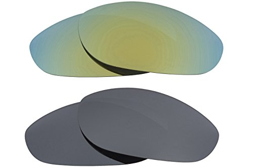 500455a2aa9 New SEEK OPTICS Replacement Lenses Oakley MONSTER DOG - Black Green - Buy  Online in Oman.
